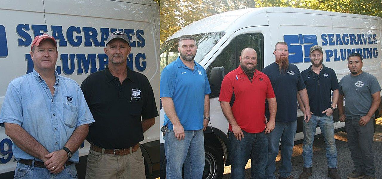 Staff at Seagraves Plumbing